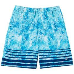 Reel Legends Big Boys Shatter Glass Swim Shorts