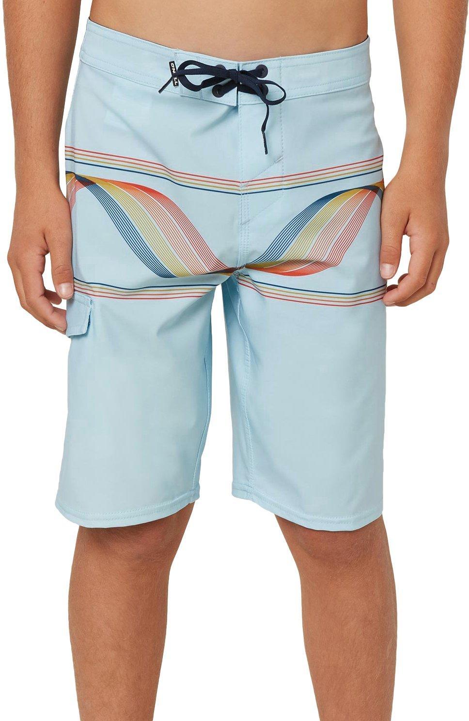 ONEILL Boys Big Hyperfreak Scallop with Back Pocket Boardshort