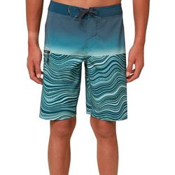 O'Neill Big Boys Hyperfreak Wavy Colorblock Boardshorts