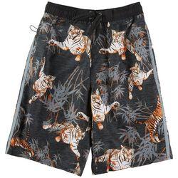 Burnside Big Boys Tiger Boardshorts