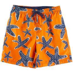 Big Boys Starfish Volley Swim Shorts
