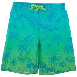 Distortion Big Boys Palm Tree Boardshorts