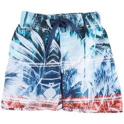 Distortion Little Boys Palm Leaf Boardshorts