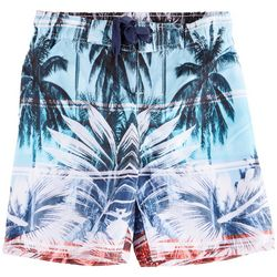 Distortion Big Boys Palm Leaf Boardshorts