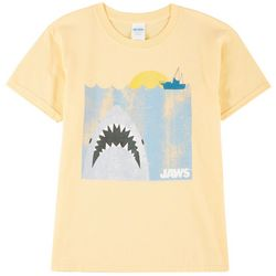 Horizon Little Boys Short Sleeve Jaws At Sea T-Shirt