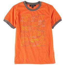 Bleached Big Boys Skate Print T-Shirt