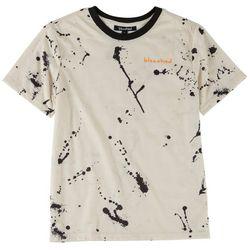 Bleached Big Boys Splatter Paint T-Shirt