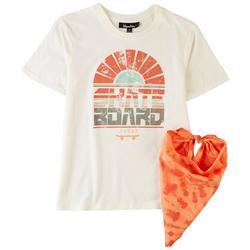 Big Boys Skateboard T-Shirt & Bandana