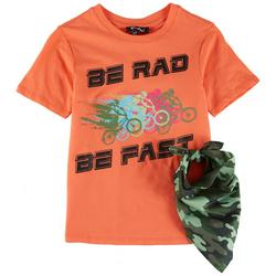 Big Boys Be Rad Be Fast T-Shirt & Bandana
