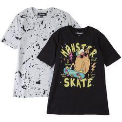Bleached Big Boys 2-pk. Monster Skate T-Shirt
