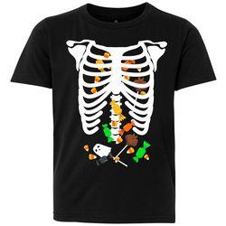Awayalife Big Boys Skeleton Candy T-Shirt