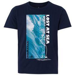 Awayalife Big Boys Lost At Sea T-Shirt