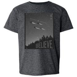 Awayalife Big Boys UFO Believe T-Shirt