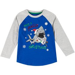 Hollywood Little Boys Jawlly Christmas Graphic T-Shirt