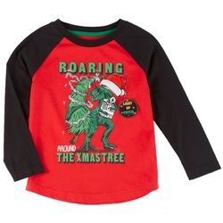 Little Boys Dinosaur Light-Up Graphic T-Shirt