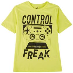 ADTN Little Boys Control Freak T-Shirt