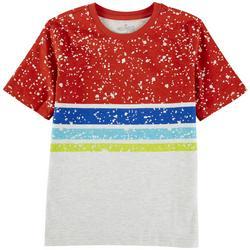 Big Boys Engineered Striped T-Shirt