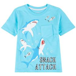 Little Boys Snack Attack T-shirt
