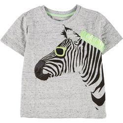 Little Boys Zebra Fringe T-shirt