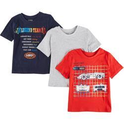 Little Boys 3-pc. Race Car T-Shirt Set