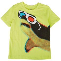 Seven Oaks Little Boys 3D Shark T-Shirt
