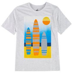 ADTN Big Boys Surfboard Screen Print T-Shirt