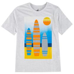 Big Boys Surfboard Screen Print T-Shirt