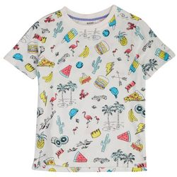 Reverse Threads Little Boys Conway Sketchbook T-Shirt