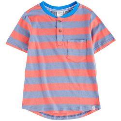 Reverse Threads Little Boys Yardline Stripe T-Shirt