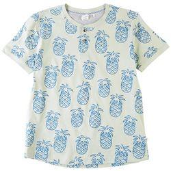 Reverse Threads Big Boys Champ Pineapple T-Shirt