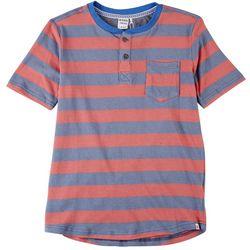 Reverse Threads Big Boys Yardline Stripe T-Shirt