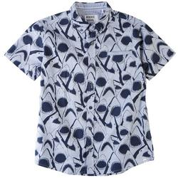 Big Boys Dover Shark Button Down Shirt