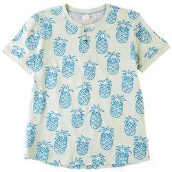 Reverse Threads Little Boys Champ Pineapple T-Shirt