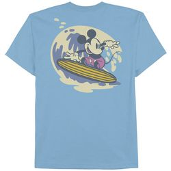 Mickey Mouse Big Boys Surfing Mickey Mouse T-Shirt