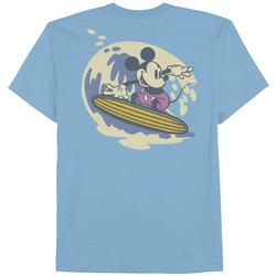 Big Boys Surfing Mickey Mouse T-Shirt