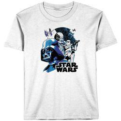 Star Wars Big Boys Darth Vader & Storm Trooper T-Shirt