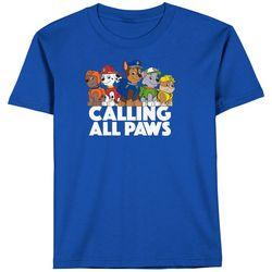 Paw Patrol Little Boys Call All Paws Short Sleeve T-Shirt