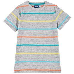 Big Boys Stripe Short Sleeve T-shirt