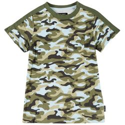 Ocean Current Little Boys Retreat Camo T-shirt