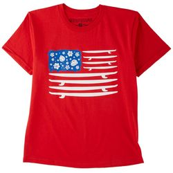 Ocean Current Big Boys Surf USA T-shirt