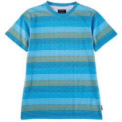 Ocean Current Big Boys Ginza Stripe Crew Neck T-Shirt