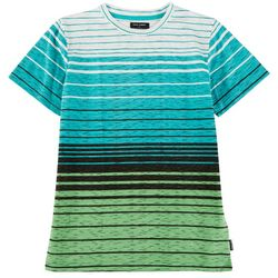 Ocean Current Big Boys Dover Striped Crew Neck T-Shirt