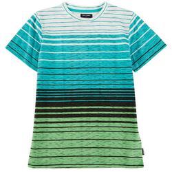 Big Boys Dover Striped Crew Neck T-Shirt