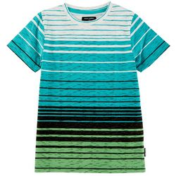 Ocean Current Little Boys Dover Striped Crew Neck T-Shirt