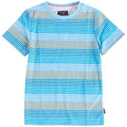 Little Boys Ginza Stripe Crew Neck T-Shirt