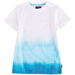 Ocean Current Little Boys Wave Dip Dye Crew Neck T-Shirt