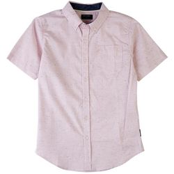 Ocean Current Big Boys Woven Spotted Short Sleeve Shirt