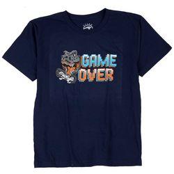 Ocean Current Big Boys Game Over Crew Neck T-Shirt