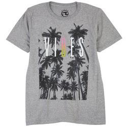Big Boys Sunset Vibes Crew Neck T-Shirt