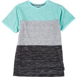 Big Boys Short Sleeve Colorblock T-shirt